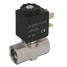 Válvula para máquinas de bebidas - silicio 316body sellado con conexión de Bable (SB363)