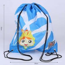 Дешевые полиэфира шнурок мешка нейлона шнурок рюкзака мешок полиэфира промотирования