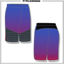 Fertigen Sie weiche Strand-Polyester-Breathable Männer Gym Kurzschlüsse an