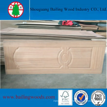 3mm Natural Wood Veneer HDF Molded Doorskin