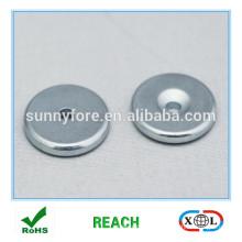 Runde N35 versenkt Ndfeb Magneten