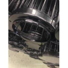 Cage verticale de sac de filtre de revêtement de silicium de 16/18/20 fils avec le venturi