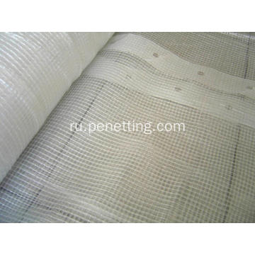 180gsm+3%2A45m+Clear+PE+Mesh+Tarpaulin+Scaffold+sheeting