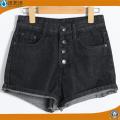 Pantalones cortos de mezclilla ocasionales del verano 2017 mujeres de la manera / del bordado de la señora