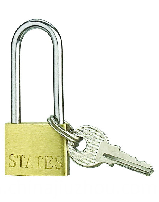 20MM Thin Brass Padlock High Security Long Shackle