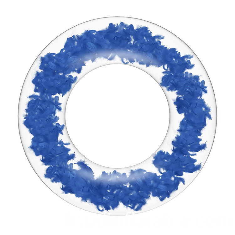 2021 Feather Inflatable Swim Ring Float