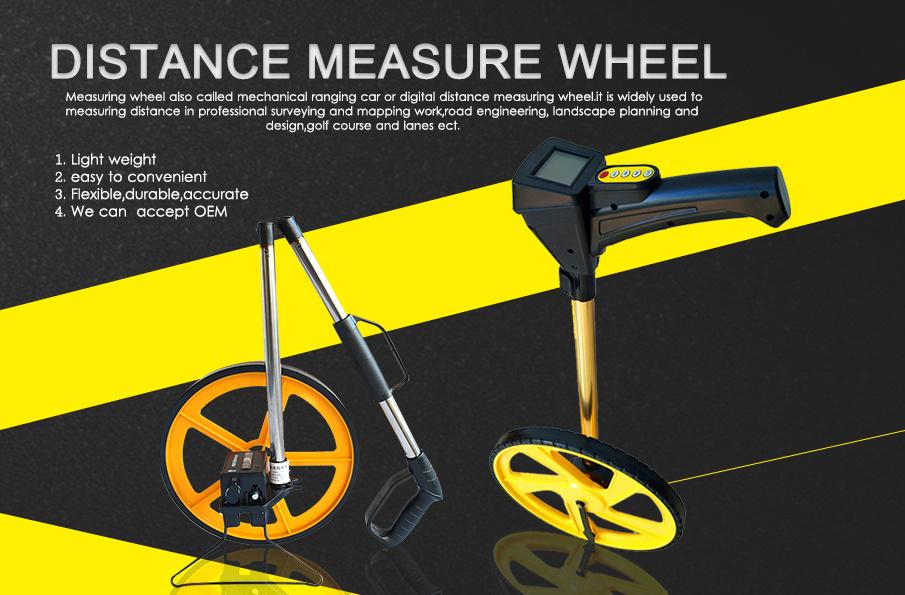 """6"""" and 12"""" Land Walking Measuring Wheels"""