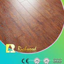8.3mm E1 HDF AC3 Embossed Hand Scraped Elm V-Grooved Laminate Floor