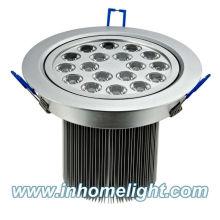 18W 12V Led ceiling light Led down light CE&ROHS