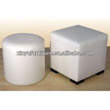 Square round white eventing ottoman XY0304
