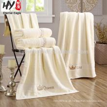 Venda quente 70x140 cm 100% algodão hotel toalhas de banho