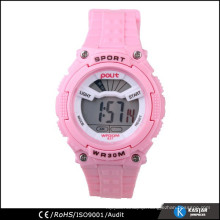 cozy pink vogue sport digital watch for girls
