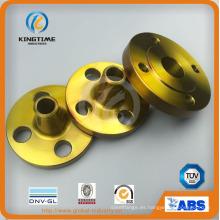 Reborde forjado de brida de acero al carbono A105n de ASME B16.5 con TUV (KT0405)
