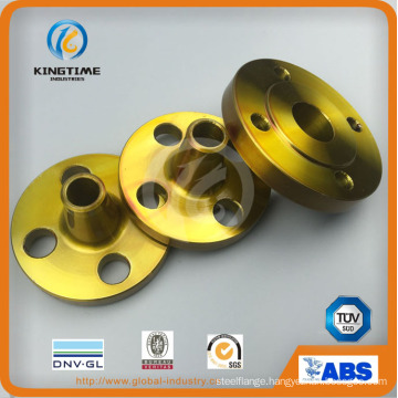 ASME B16.5 Carbon Steel A105n Wn Flange Forged Flange with TUV (KT0405)