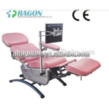 DW-BC006 Bluttransfusion Stuhl medizinische einstellbare Blut Stühle Notfall elektrische Blutspende Stuhl