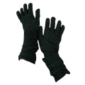 Good quality knitted full finger glove with touch screen