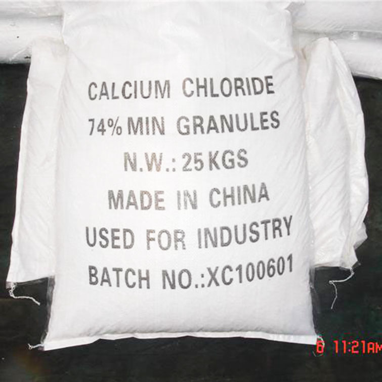 74% calcium chloride for Japan