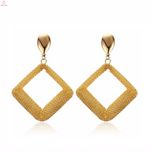 Fashionable Special Rhombus Shape Earring Jewelry Items