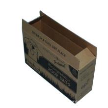 Brown Craft Corrugated Logo Print Paper Packing Box