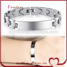 Bracelet jonc en acier inoxydable, bracelet en acier inoxydable 316L 2015