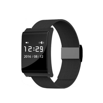 2017 Dispositivos Wearable Monitor de Freqüência Cardíaca Banda Inteligente Monitor de Atividade do Bluetooth Pulseira Inteligente X9 Além de Pressão Arterial Pulseira P2