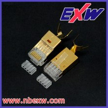 Cat.6A Golden RJ45 connector