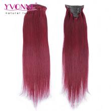 Мода Цвет Реми клип человеческого волоса в наращивание волос