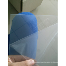 Folha de PVC transparente para óculos