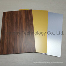 Wood Stone Mirror Texture ACP Acm Aluminum Composite Panels for Building Curtain Wall Cladding Decoration Materials
