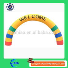 inflatable welcome arch inflatable rainbow arch for advertising inflatable archway