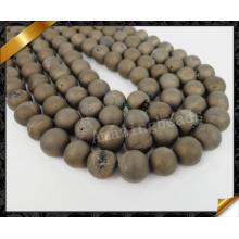 Друзи Бисерс, Природный Друми Камень, Мода Друзи Друси для женщин, Полу Драгоценный камень (YAD025)