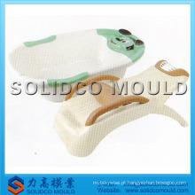 molde plástico da banheira do bebê