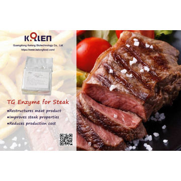 Additif alimentaire dans le steak