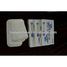 Disposable dental supply sterile paper tray for medical equipment