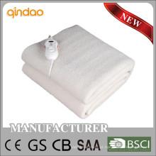 Cobertor elétrico aprovado com temporizador de desligamento automático para EU Maket