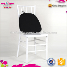 Resin chiavari chair with cushions for EU market