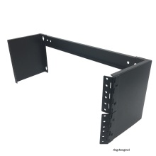 Rack de montaje en pared plegable de 4U y 19 pulgadas