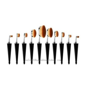 High Quality 10pcs Cosmetic Brushes
