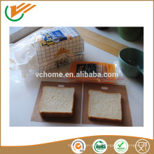 Facile à utiliser Grille-pain réutilisable Toastie Sandwich Toast Sacs Pochettes Toasty Toastabags