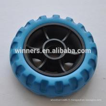 petite roue de jouet en plastique 4 pouces eva roue