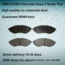 front car Chevrolet Aveo brake pad D1269