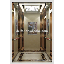 Comfortable passenger lift from Delfar with beautiful decoration and good quality