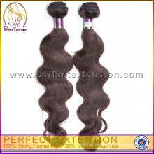 Promotional Gift Grade 6a Unverarbeitete Körperwelle Indisches reines Haar