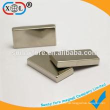 Quadratische Ndfeb Hochleistungs-starke Magnete