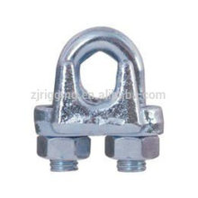 Clip de câble métallique malléable avec TYPE A