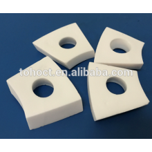 Electrical insulation ceramic alumina steatite zirconia ceramic brick tile plate with holes