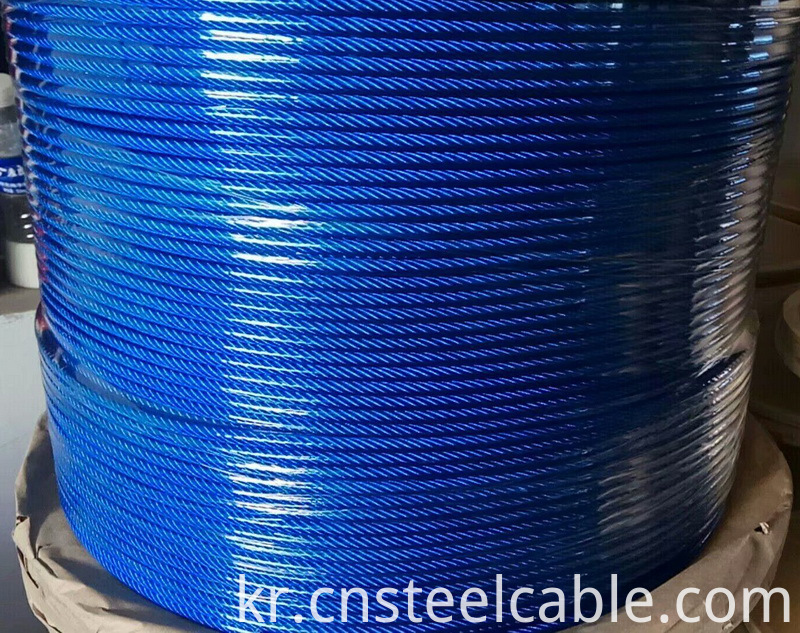 Coated Wire Rope 001