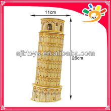 13 Pieces Puzzle 3D Funny 3D Leaning Tower Of Pisa jigsaws Puzzle