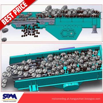 Fornecimento de fábrica de mineração vibrando grizzly máquina alimentador para a Arábia Saudita