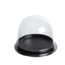 Transparent round mini moon cake plastic box